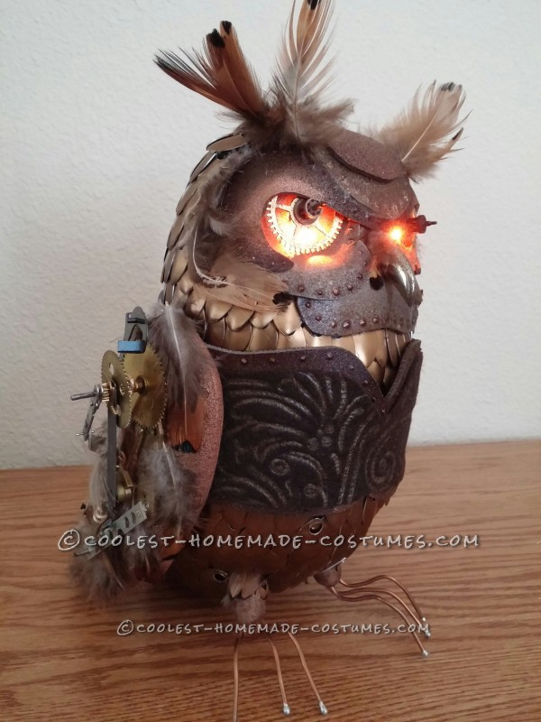 Awesome Homemade Steampunk Costume - 12
