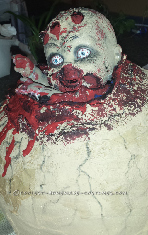 Creepy Couple Costume: Birthing a Baby Zombie - 4
