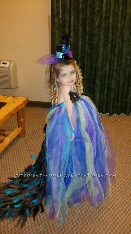 Lovely Homemade Toddler Peacock Costume - 3