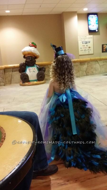 Lovely Homemade Toddler Peacock Costume - 4