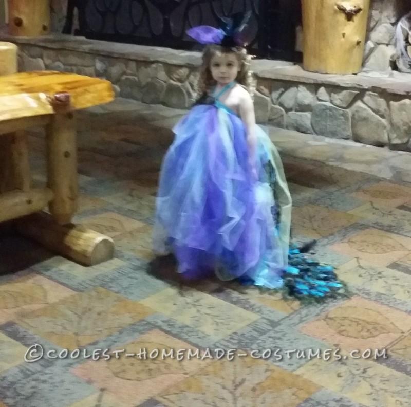 Lovely Homemade Toddler Peacock Costume - 5