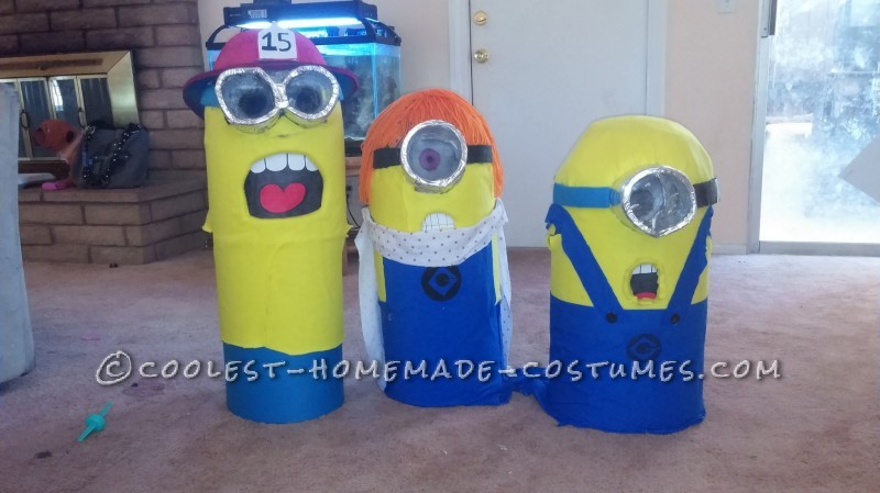Cool Family Halloween Costume: Adorable Minions - 1
