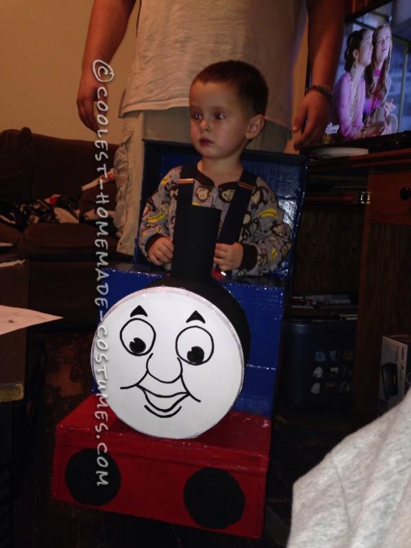 Toddler Thomas the Train Costume - 1