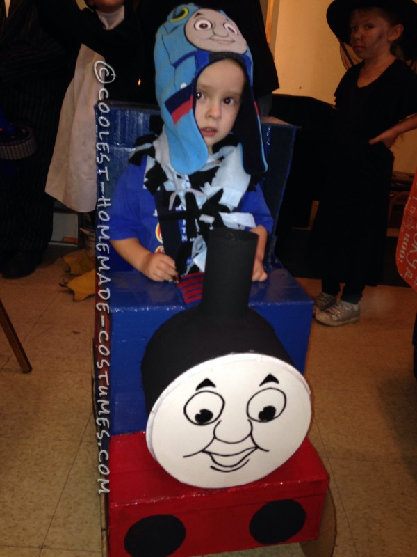 Toddler Thomas the Train Costume