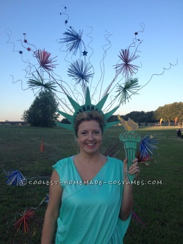Original 4th of July Statue of Liberty Costume