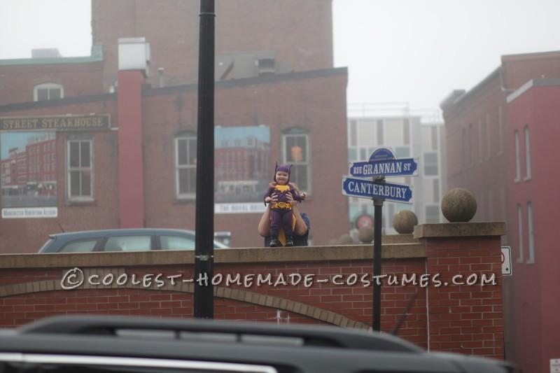 Cool 60's Era Baby Batgirl Costume - 9