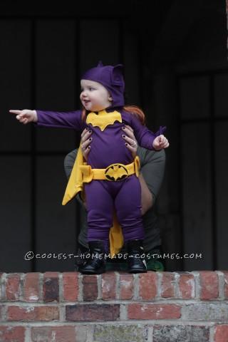Cool 60's Era Baby Batgirl Costume