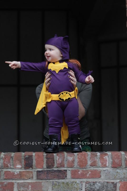 Cool 60's Era Baby Batgirl Costume - 1