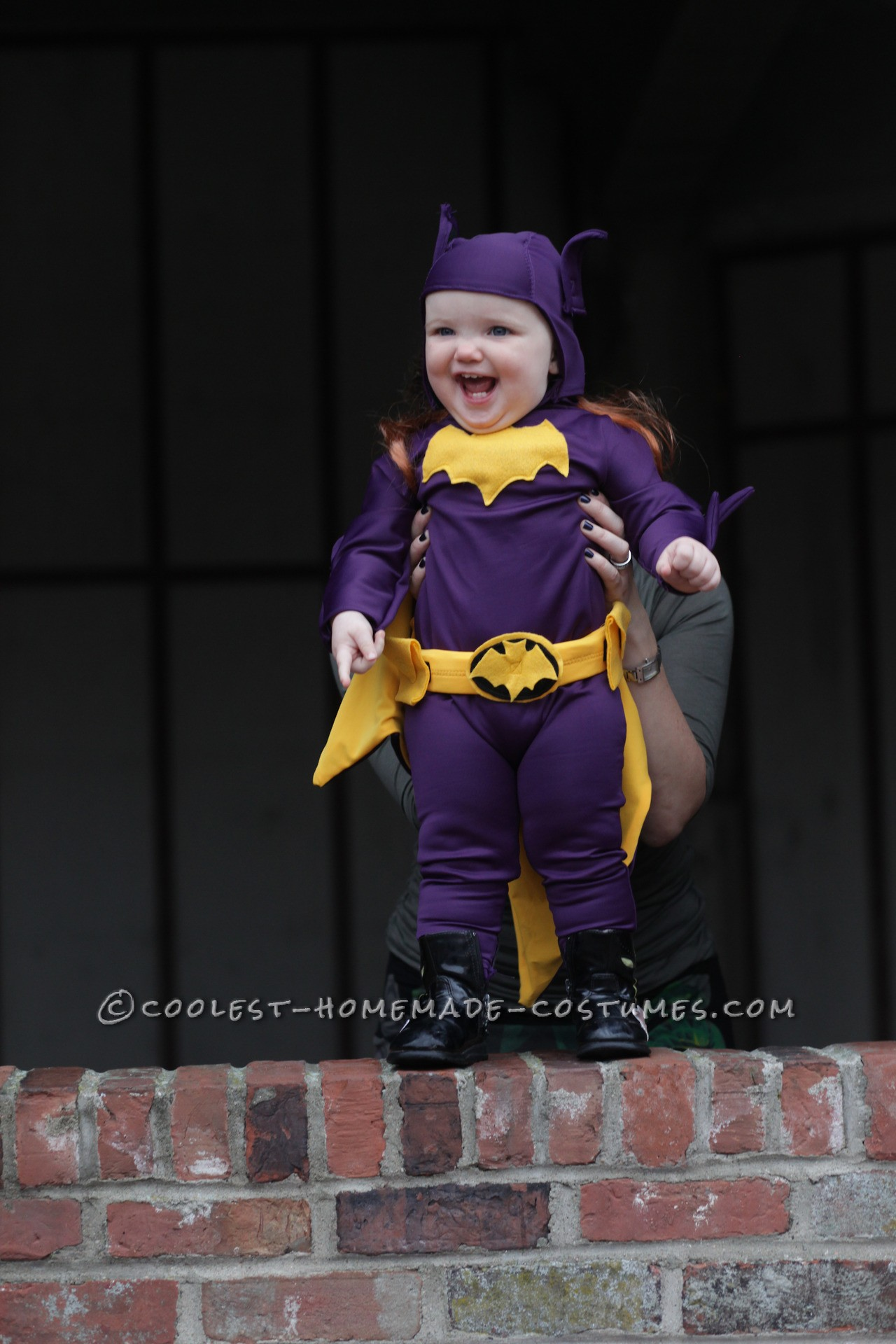 Cool 60's Era Baby Batgirl Costume