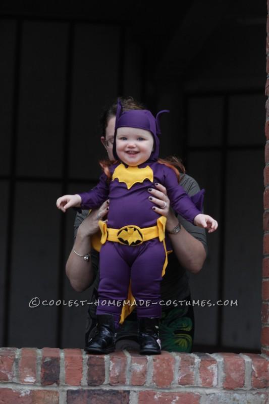 Cool 60's Era Baby Batgirl Costume - 3