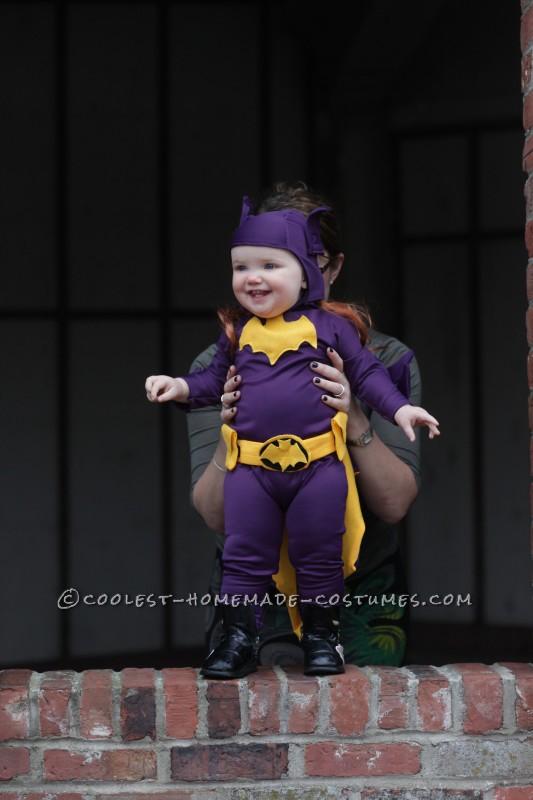 Cool 60's Era Baby Batgirl Costume - 4
