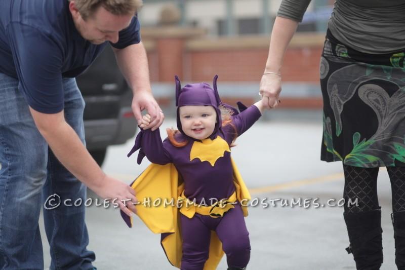 Cool 60's Era Baby Batgirl Costume - 5