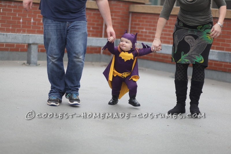 Cool 60's Era Baby Batgirl Costume - 6