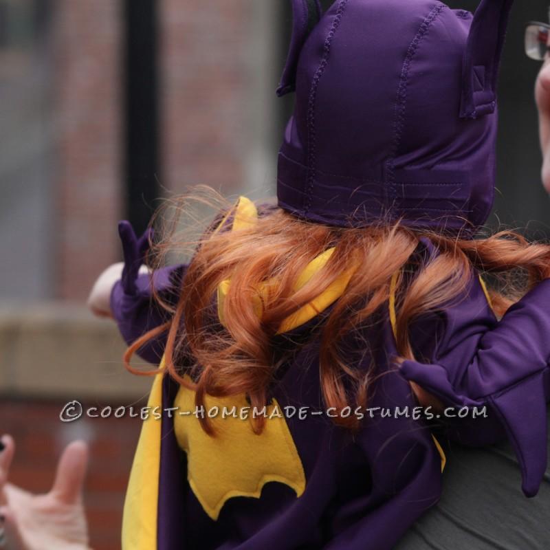Cool 60's Era Baby Batgirl Costume - 2