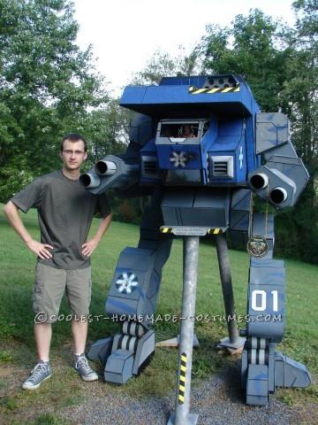 Seven-Foot-Tall Mechwarrior