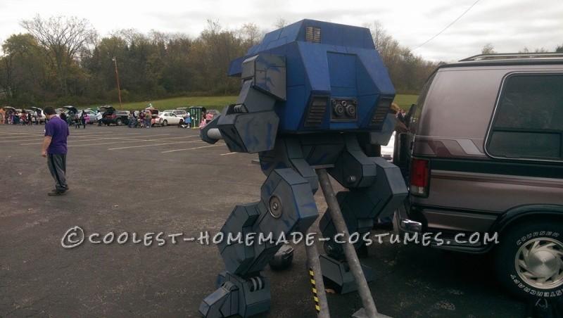 "Seven-Foot-Tall Mechwarrior ""Warhawk"" Costume - 4"