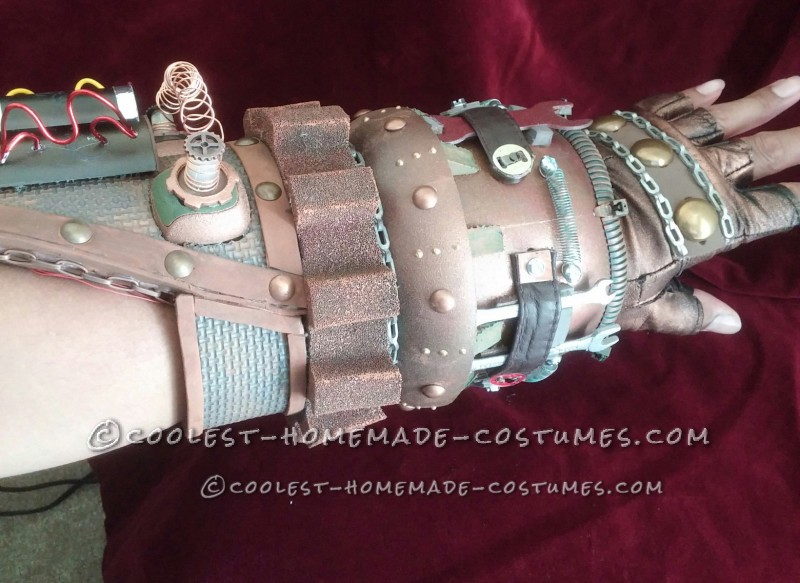 Awesome Homemade Steampunk Costume