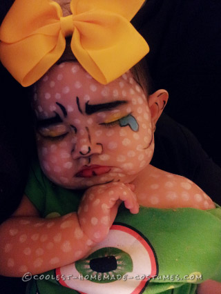 Cutest Ever Baby Costume: Comic Book Baby