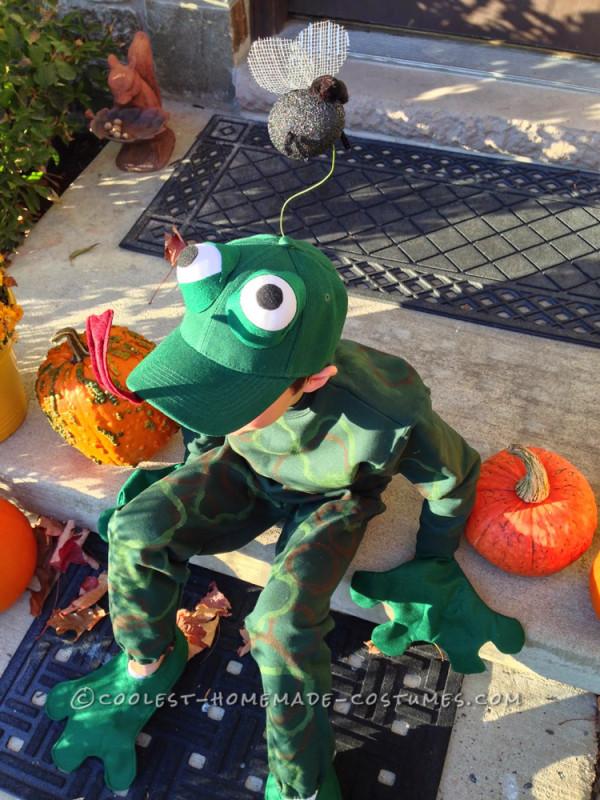 Fantastic Frog Costume for a First Grader