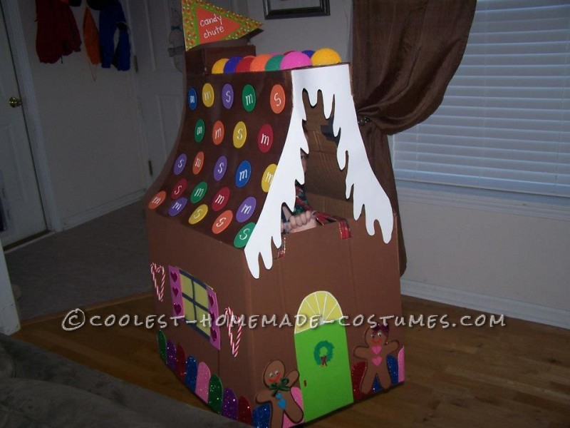 You can see the flag marking the Candy Chute