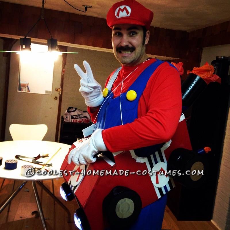 Totally Worth the Work Mario Kart Costume!