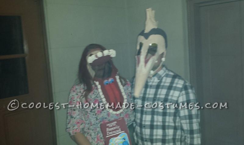 Adam and Barbara Maitland Couple Costume