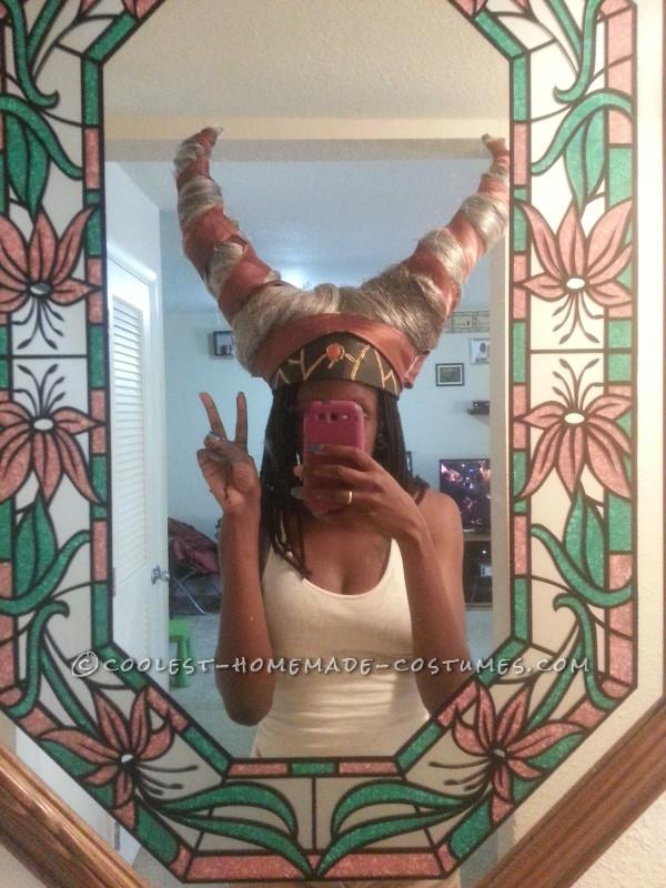 Cool Homemade Rita Repulsa Costume