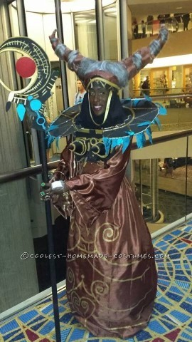 Cool Homemade Rita Repulsa Costume