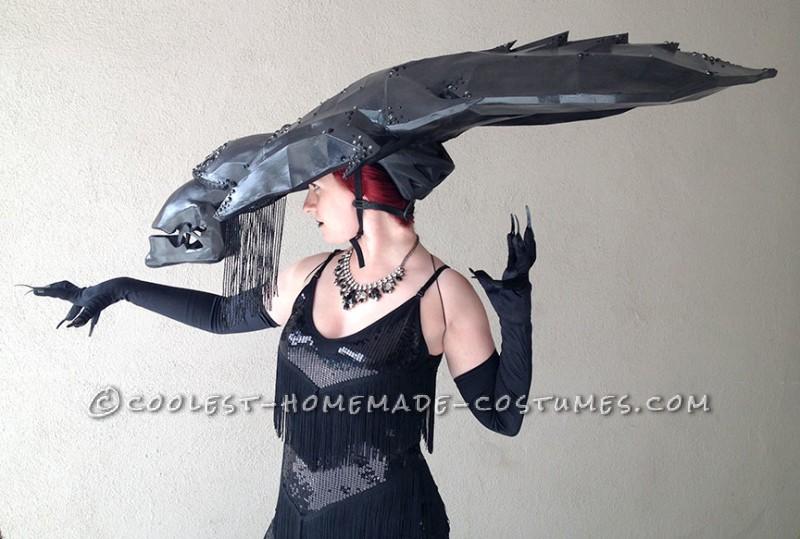 Classy DIY Alien Queen Costume - 6