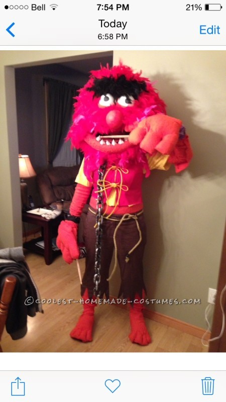 Amazing Wild Animal The Muppet Costume
