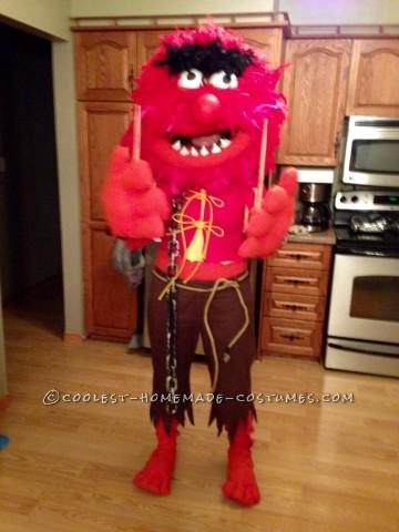 Amazing Wild Animal The Muppet Costume