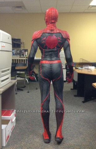 Movie Quality DIY Spiderman Costume