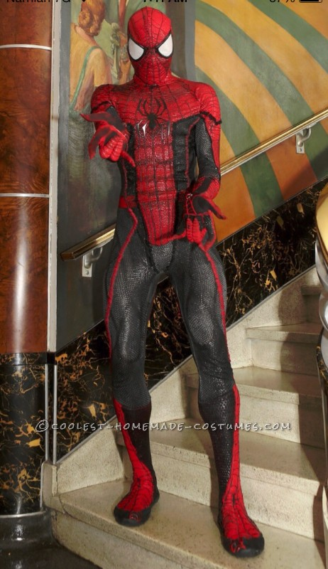 Movie Quality DIY Spiderman Costume