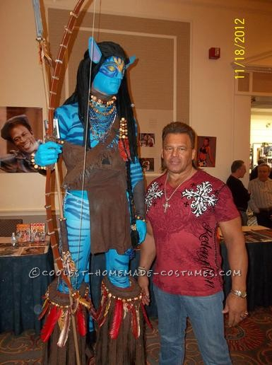 Awesome Homemade Avatar Na'vi Warrior Jake Sully Costume