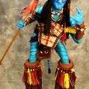 Awesome Homemade Avatar Na'vi Warrior Jake Sully Costume
