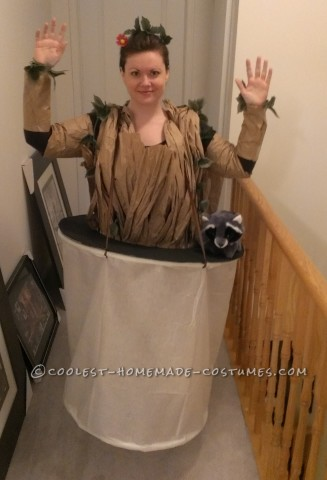 Awesome Baby Groot Costume for a Grown Woman