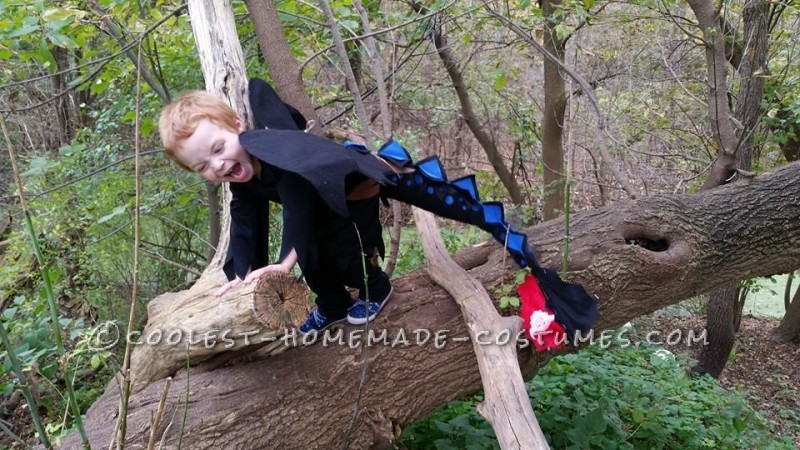 Awesome DIY Toothless Alpha Costume