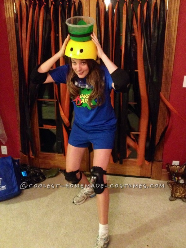 The full Double Dare costume!