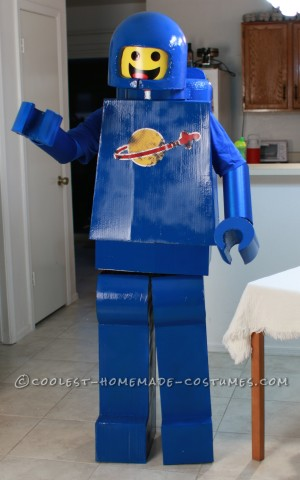 Awesome Lego Benny Costume from the Lego Movie