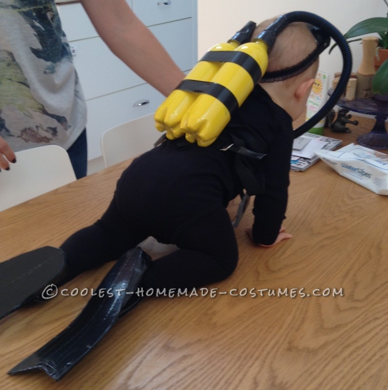 Cute Baby Scuba Diver Costume