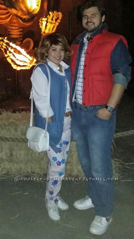 Back to the Future Couple Costume