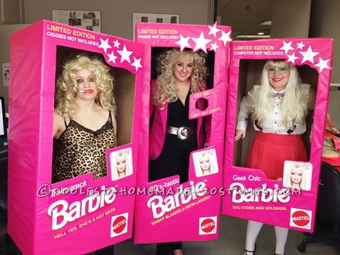 Cool All Girls Costume Idea: Barbie Girls in a Barbie World