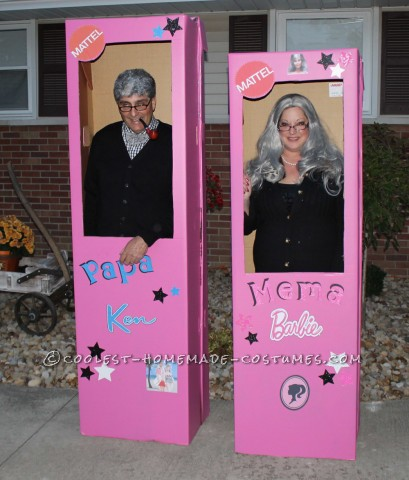 Mema Barbie and Papa Ken Couple Costume