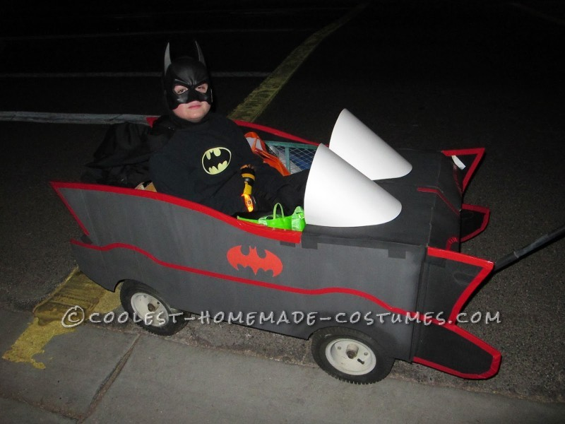 Cool Batman, Robin and Villain Family Costumes - 2