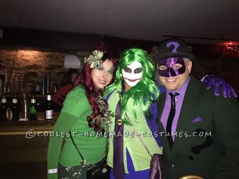 Cool Batman Villains Group Costume