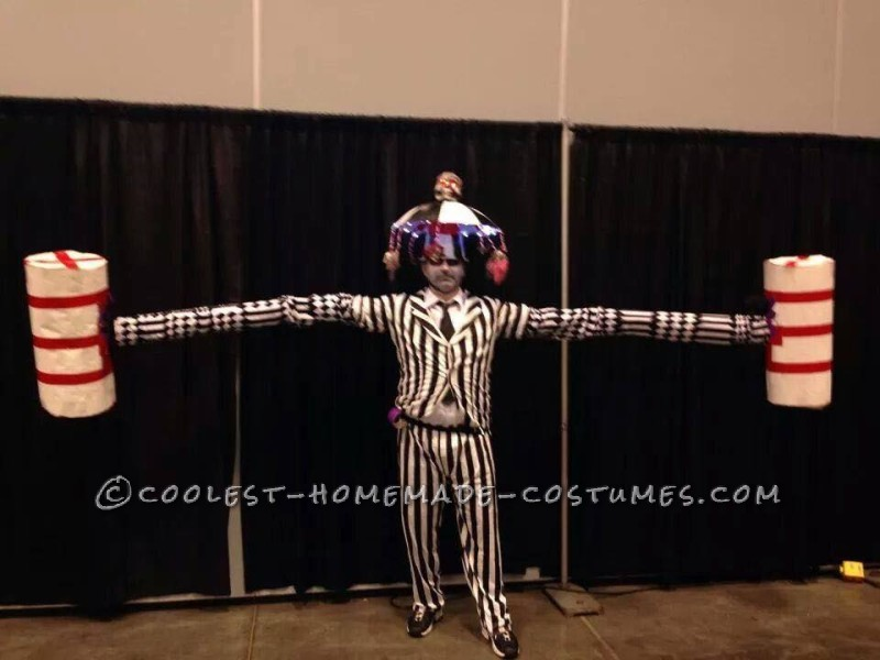 Cool Homemade Beetlejuice Costume