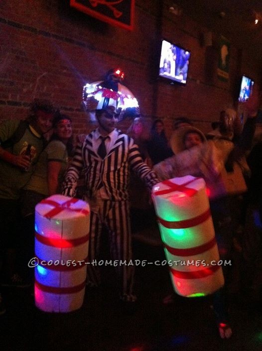 Cool Homemade Beetlejuice Costume - 1