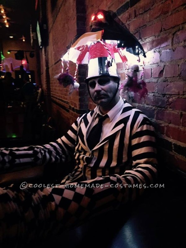 Cool Homemade Beetlejuice Costume - 2