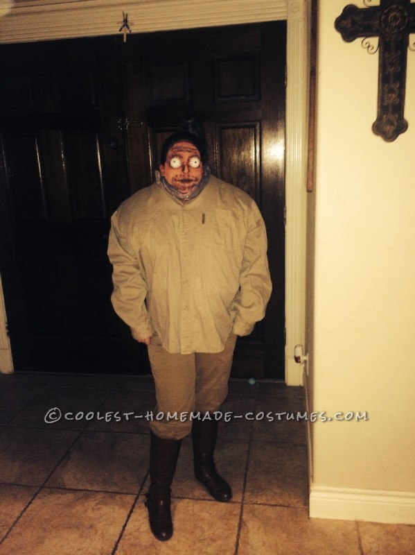 Fun DIY Beetlejuice with Shrunken Head Costume - 2