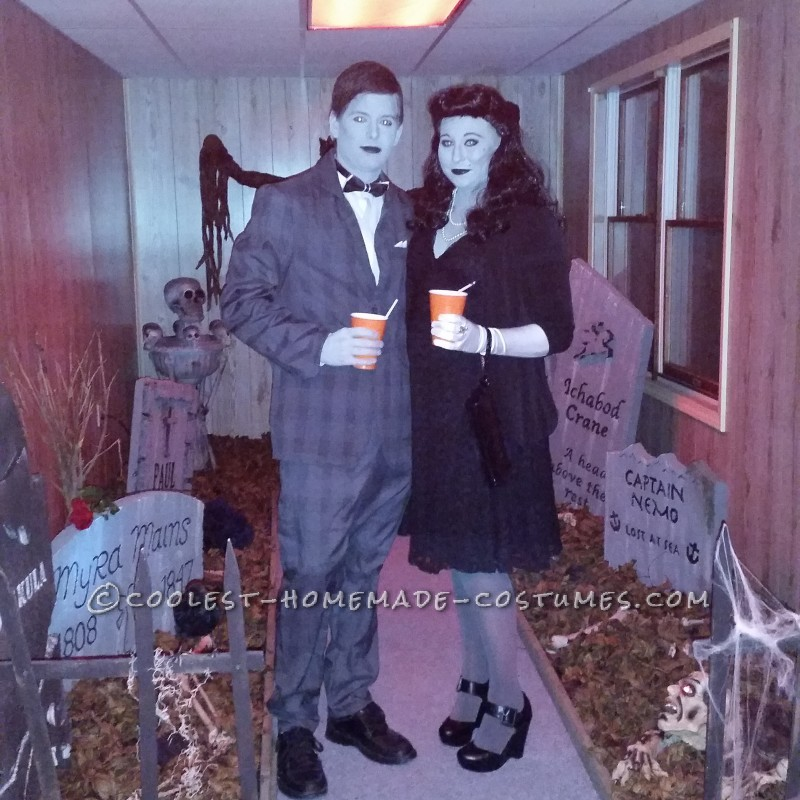 Best Grey Scale Couple Costume
